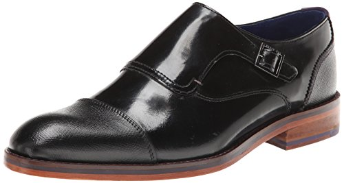 Ted Baker Men'S Paytenn Tuxedo Oxford,Black Leather,11 M Us