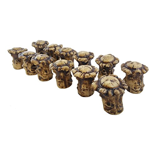 Antler Drawer / Cabinet Knobs (Pack of 12) Knob Pulls with Screws. Antler Decor (Cabinet Antler Knobs compare prices)