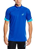 Asics Camiseta Manga Corta L2 (Azul)