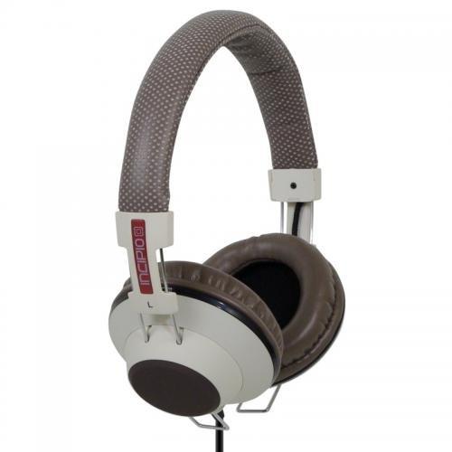 Retro style over ear headphones