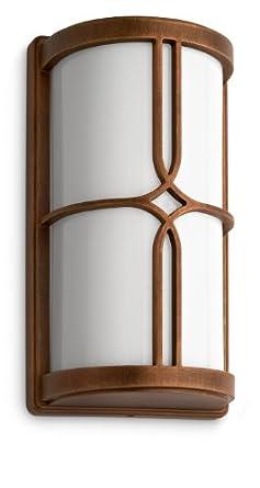 Philips 172490616 Nectar Lanterne Murale Aluminium Bronze 1 x 20 W