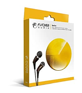 Fischer Audio Epsilon In-Ear Headphone with In-Line Multifunction Remote and Microphone