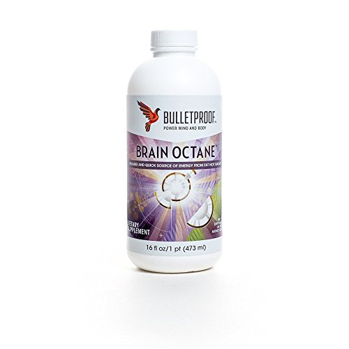 Bulletproof Brain Octane Oil - 16 oz. (Bullet Coffee Oil compare prices)