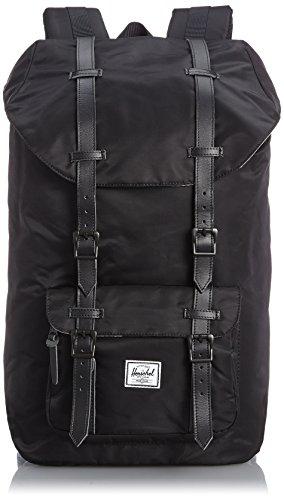 Herschel Supply Co. Men's Little America Nylon Backpack, Black, One Size (Little America Black Backpack compare prices)