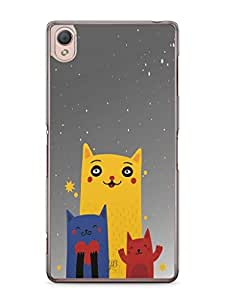 YuBingo Family of Cats Mobile Case Back Cover for Sony Xperia Z3