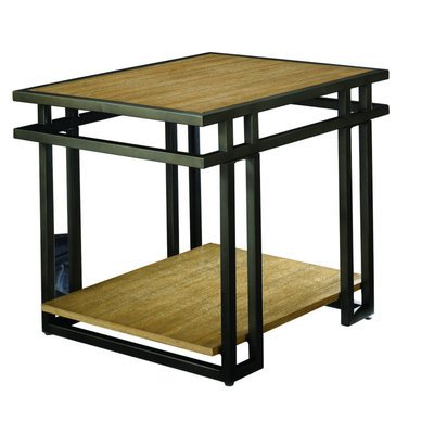 Cheap Hammary Madrid 28×24 Rectangular End Table (057-915)