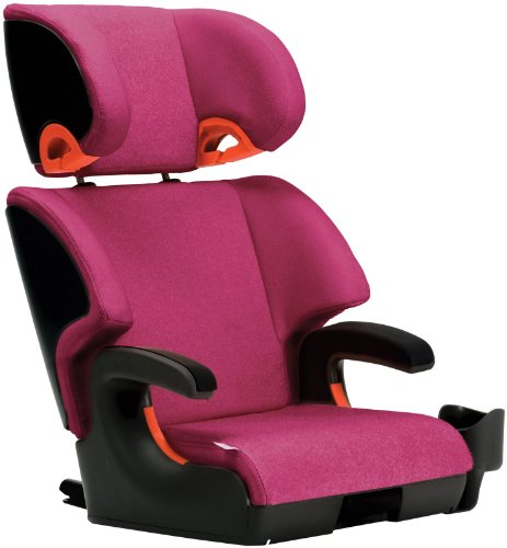 Clek Oobr 2014 Full Back Booster Seat, Flamingo