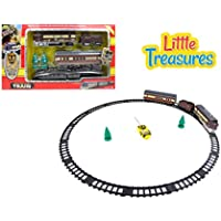 Little Treasures High Quality Modern Electric Train Set Cargo Train Steam Engine Locomotive Subway Monorail Line...