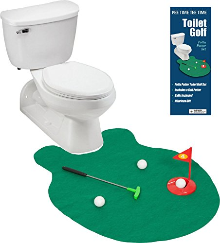 EZ-Drinker-Toilet-Golf-Putter-Practice-in-the-Bathroom-Toy-with-this-Potty-Putter