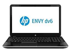 "HP ENVY dv6t-7200 Quad Edition Entertainment Notebook PC, 15.6"" Laptop / 3rd Generation Intel Core i7-3630QM Processor (IVY BRIDGE) / Windows 8 64 / 1GB 630M GDDR3 Graphics / 8GB DDR3 RAM / 750GB 7200RPM Hard Drive / Blu-ray Player / Beats Audio / Midnight Black in Brushed Aluminum Finish; DV6"