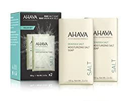 AHAVA Moisturizing Salt Soap Duo Set, 3.4 fl. oz.