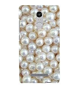 FUSON Pearls Back Case Cover for Xiaomi Redmi Note 3