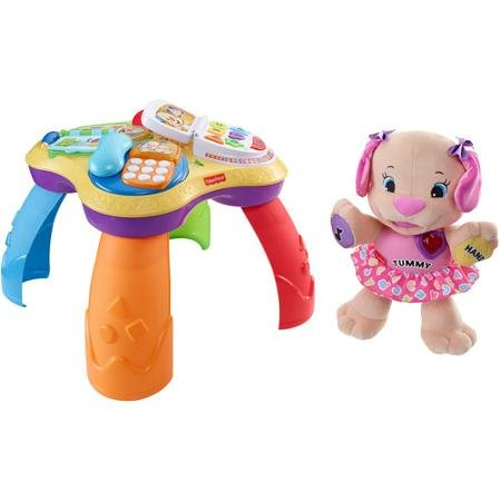 Fisher Price Laugh And Learn Puppy And Friends Learning Table And Puppy