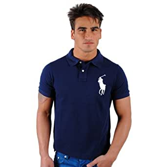 Ralph Lauren - Polo big pony marine logo bleu RA3415253 (XL)