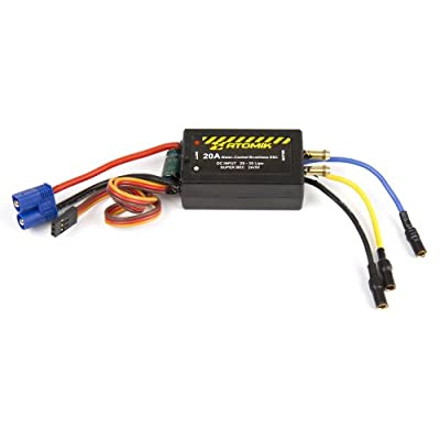 Atomik 25A Water-Cooled Brushless ESC for Barbwire RC Boat