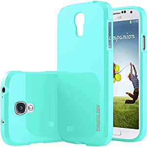 Galaxy S4 case, Caseology® [Daybreak Series] [Turquoise Mint] Slim Fit Shock Absorbent Cover [Drop Protection] Samsung Galaxy S4 case