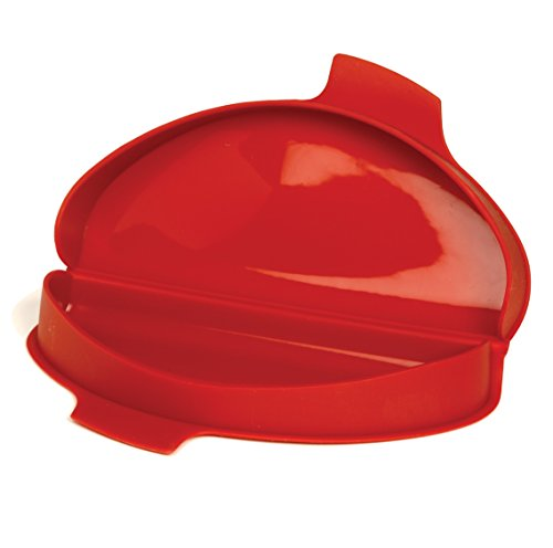 Norpro 930 Silicone Omelet Maker, 8.75 By 4.75 By 1.38-Inch, Red