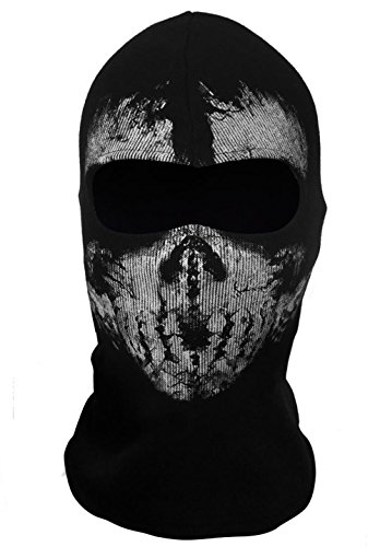 Koveinc New Ghosts Balaclava Bike Skateboard Cosply Costume Skull Mask