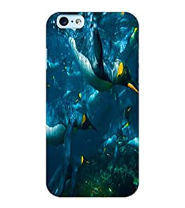 ColourCraft Cute Penguins Design Back Case Cover for APPLE IPHONE 6S