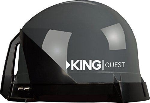 KING VQ4100 Quest Portable/Roof Mountable Satellite TV Antenna (for use with DIRECTV) (Direct Tv Satelite For Rv compare prices)