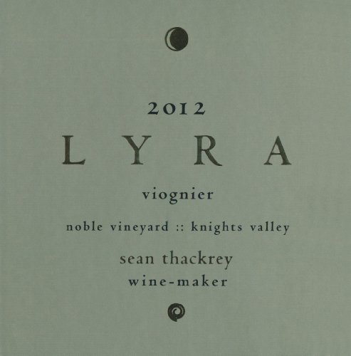 2012 Thackrey Lyra 750 Ml
