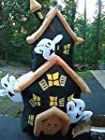 Airblown Inflatable Haunted House-7 Feet Lights Up