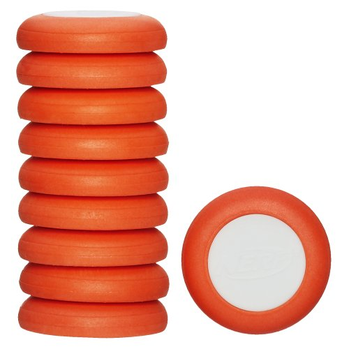 Nerf Vortex Refill Pack 10 discs- Orange - 1
