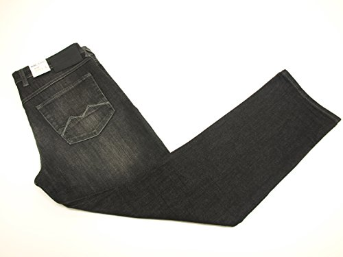 MAC Herren Jeans Hose Arne 0970L050300 H879, Größe:W32/L34;Color MAC Herren:authentic used black