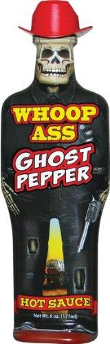 Whoop Ass Ghost Pepper Hot Sauce