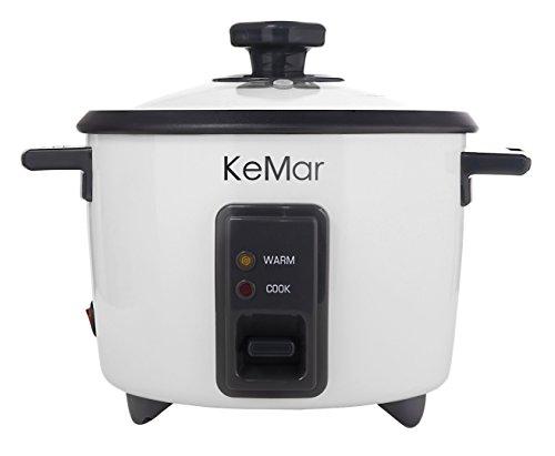 KeMar-KRC-110-Reiskocher-Dampfgarer-mit-automatischer-Warmhaltefunktion-und-Dmpfeinsatz-BPA-frei
