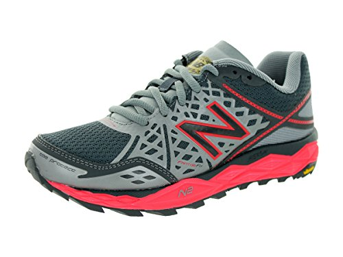 New Balance Women's WT1210 Trail Shoe, Grey/Pink, 9 B US