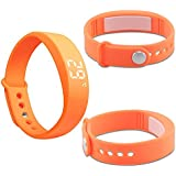 3D LED USB Sports Smart Watch HYSJY Smart Bracelet Sports Wristband With Smart Reminder Calorie 3D Pedometer Time... - B015MDM7X2