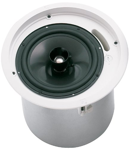 Sold As Pairs - Electro-Voice Evid C8.2 Ceiling Mount Speaker 8 Coaxial Speaker, Horn Loaded Ti Coated Tweeter