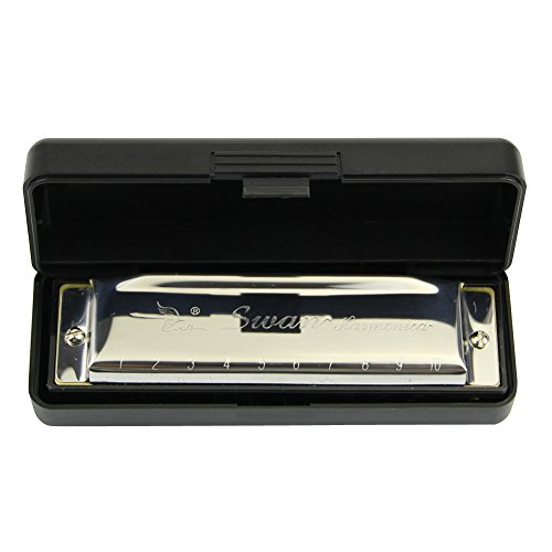 Harmonica with case. The No.1 selling harmonica at Amazon. Low cost fun. Ideal for beginners.