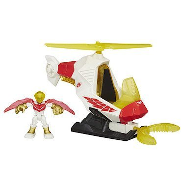 Playskool Heroes Marvel Super Hero Adventures Marvel's Falcon Talon Copter with Figure by Captain america