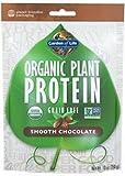 Garden of Life - Organic Plant Protein Smooth Chocolate, 10 oz powder