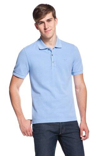Short Sleeve Vintage Washed Polo