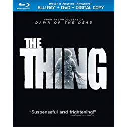 The Thing (2011) (Two-Disc Combo Pack: Blu-ray + DVD + Digital Copy + UltraViolet)