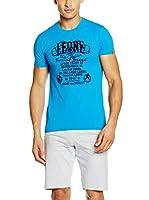 Leone 1947 Camiseta Manga Corta Lsm948/S16 (Azul)