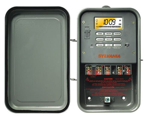 Sylvania SA315 40 Amp 240-Volt Double-Pole Zip Set Outdoor Industrial Timer (Industrial Timer Digital compare prices)