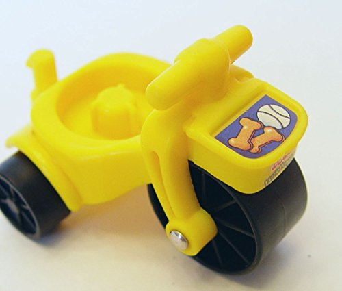 Fisher Price 2001 Little People Yellow Tricycle Toy Replacement - 1