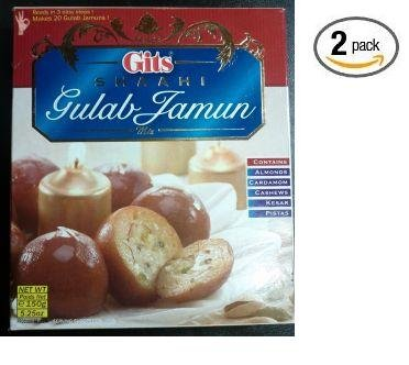 Gits SHAAHI gulab jamun MIX oz (Pack of 2) 5.25