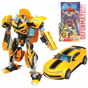Transformers Movie 4 Age of Extinction Bumblebee Masterpiece Action Figure + Box