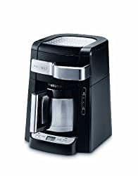 DeLonghi DCF2210TTC 10-Cup Thermal Carafe Drip Coffee Maker, Black made by Delonghi