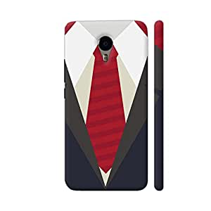 Colorpur My Dad's Suit With Red Tie Artwork On YU Yunicorn Cover (Designer Mobile Back Case) | Artist: Designer Chennai