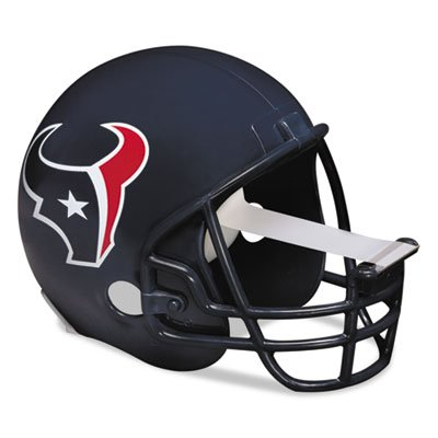 "NFL Helmet Tape Dispenser, Houston Texans, Plus 1 Roll Tape 3/4"""" x 350, Sold as 1 Each"