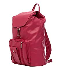 New Zovial Pretty Pink PU Small Backpack