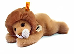 Steiff Little Friend Leo Lion Plush, Blond by Steiff