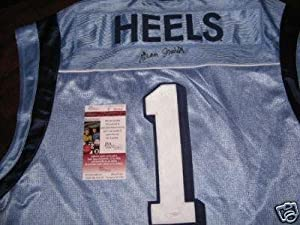 Dean Smith Unc Tarheels Jsacoa Signed Jersey - Autographed College Jerseys by Sports+Memorabilia