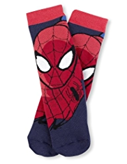 Spider-Man Terry Slipper Socks